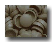 #122 Beige SNAP-CAPS Screw Covers