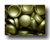 #114 Brass SNAP-CAPS Screw Covers