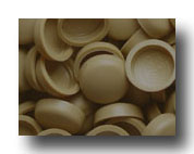 #123 Caramel SNAP-CAPS Screw Covers