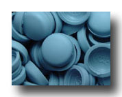 #156 Sea Blue SNAP-CAPS Screw Covers