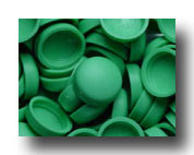 #141 Sea Ray Green SNAP-CAPS Screw Covers